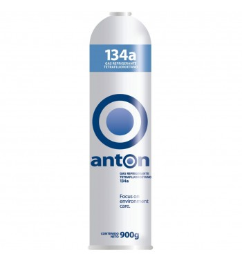 Garrafa de Gas R134a Anton Refrigerante 900gr