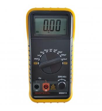 Capacimetro Digital Capacitores 200pf A 20mf Mastech...