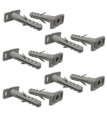 Tarugos para precintos del 6 mm - Gris x 10 Unid.