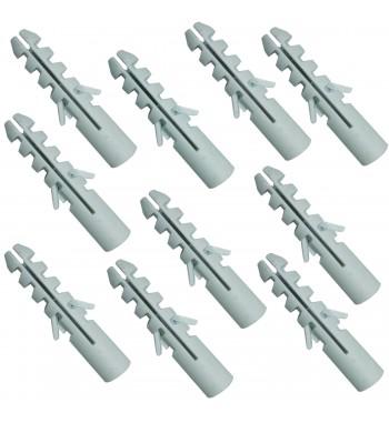 Tarugo Fischer De Nylon Nº 8 Para Ladrillo Comun 10 Unidades