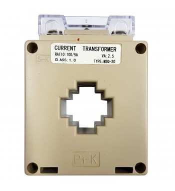 Transformador De Corriente Con Relación 100A/5A Gralf GF1005