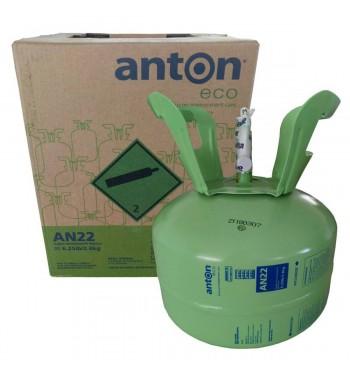Garrafa de Gas AN22 (R417A) Anton Refrigerante 2,8Kg