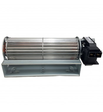 Turbina tangencial 18cm motor C/terminales Reversible
