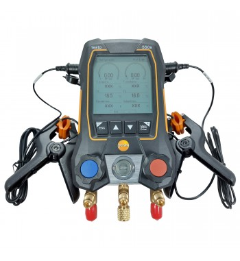 Manifold Digital Bluetooth Pantalla LCD + 2 Sondas Pinzas...