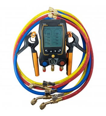 Manifold Digital Bluetooth + 2 Pinzas 115i + Valija + 3...