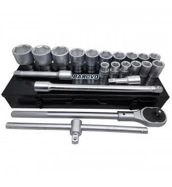 Juego de tubos de 21 piezas Barovo JU2134