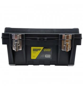 """Caja de herramientas de 17"""" plástica con cierre metálico..."""