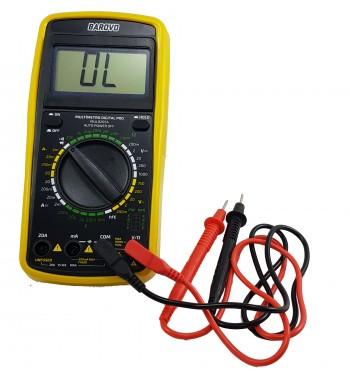 Tester Multimetro Digital Barovo MUL9205A