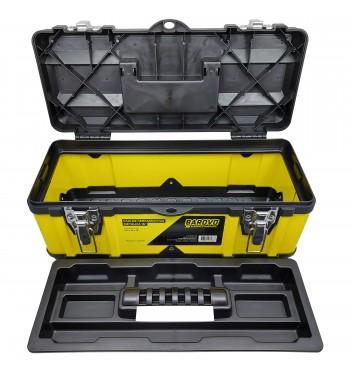 """Caja de herramientas de 16"""" metálica Barovo CHUM16"""