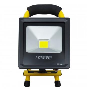 Reflector Led recargable a batería 20 W Barovo PRO20USBB