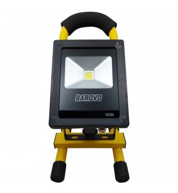 Reflector Led recargable a batería 10 W Barovo PRO10USBB