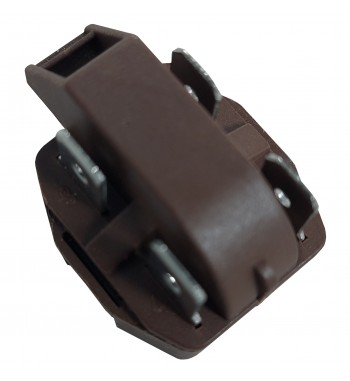 Relay PTC 4 Pins 220V Para Arranque De Compresores Marrón