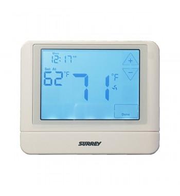 Termostato Ambiente Surrey Touchscreen 3H/2C 24v Programable