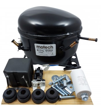 Compresor Motech 1/4 HP-R134A-LBP-220V (GFF66AA)