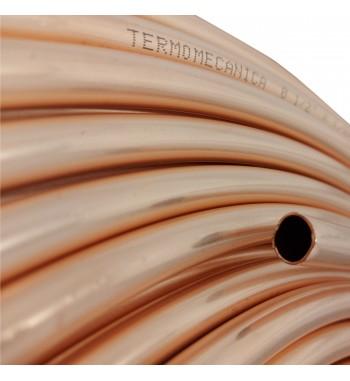 Caño de cobre fraccionado por metro 1/2 0,8mm