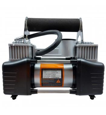 Minicompresor 150 PSI doble pistón 12v Kushiro MC150PSI