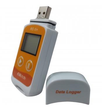 Termometro Data Logger Digital Puerto USB RC-5+