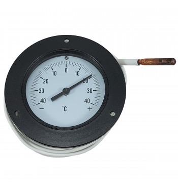 Termometro Redondo Analogico Con Bulbo -40º a +40ºC TJ2-2