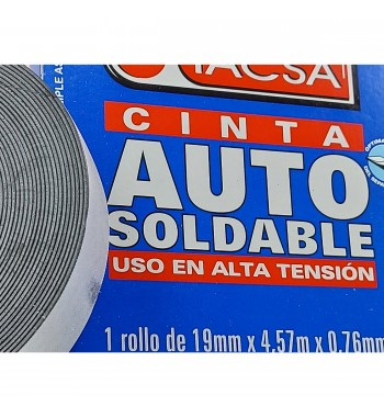 Cinta Autosoldable Tacsa 19mm x 0,76mm x 4,57m - Chica